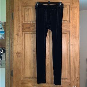 Old navy velvet leggings